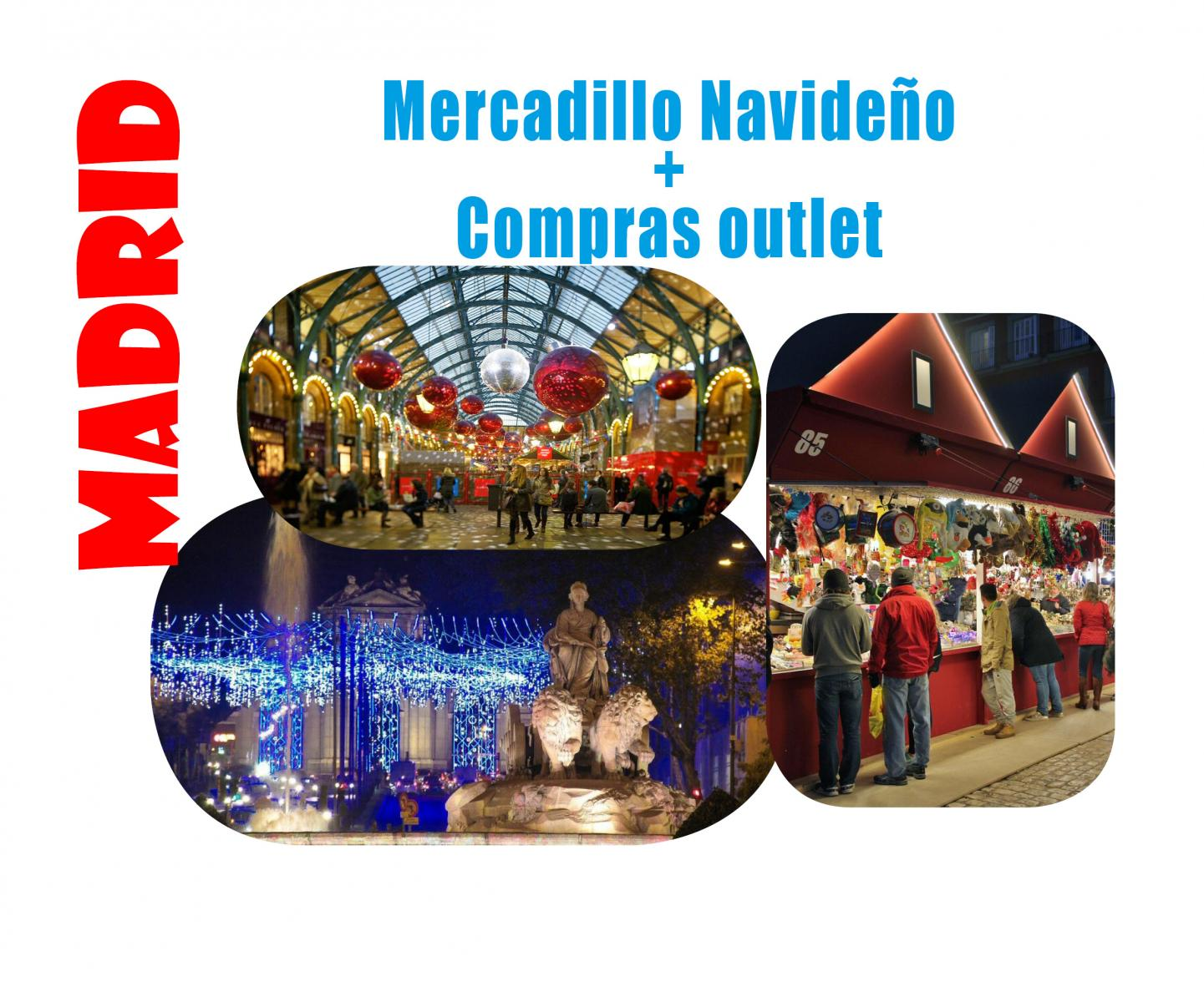 Mercadillo Navideño + Compras outlet#15 Diciembre#SET