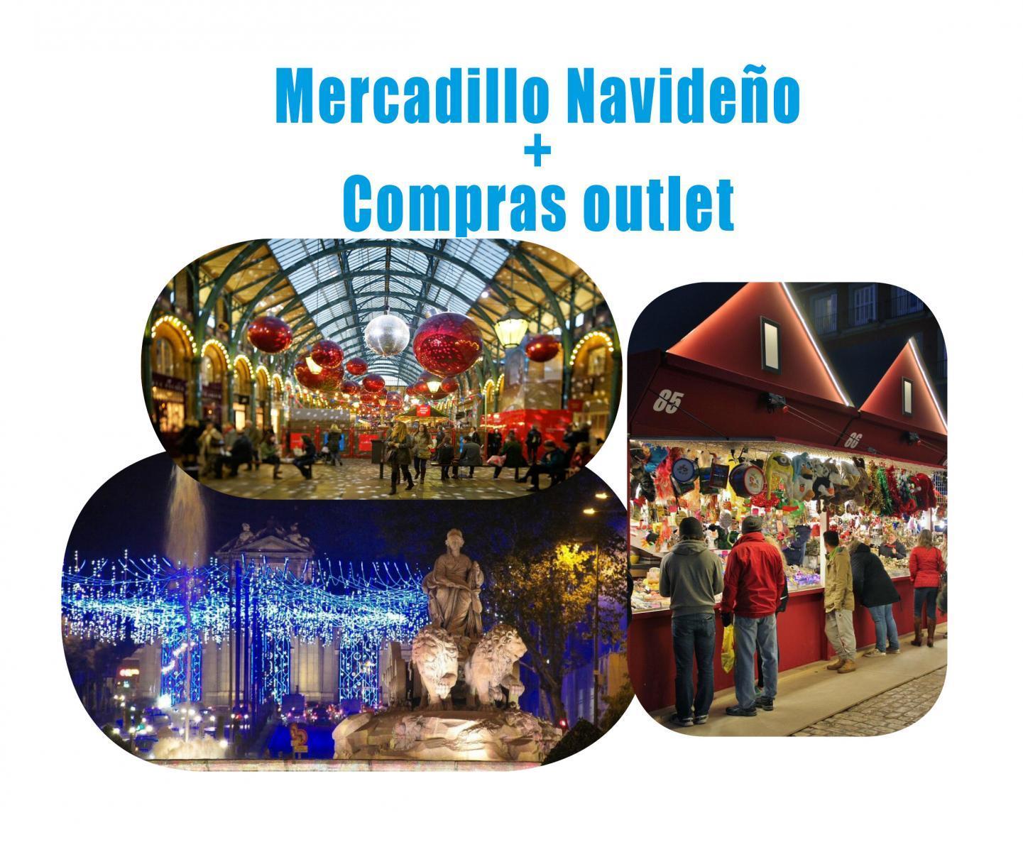 Mercadillo Navideño Madrid + Compras outlet # 14 Diciembre