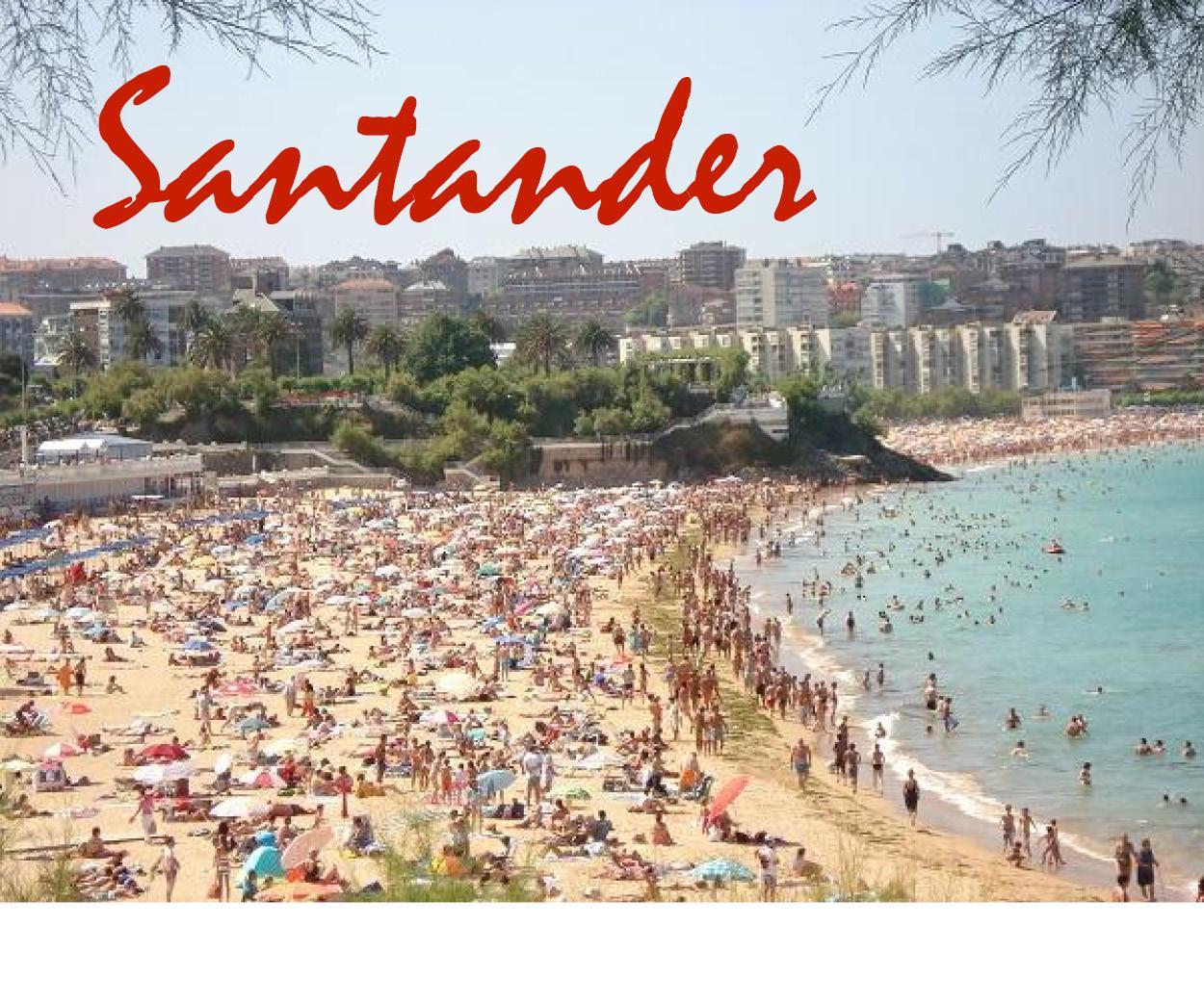 UN DIA DE PLAYA: SANTANDER # 11 DE AGOSTO # TRANSPORTE I/V + DESAYUNO