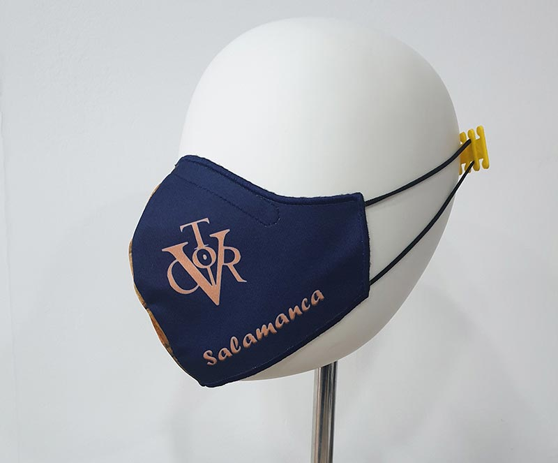 Mascarilla Universidad Salamanca y Vitor